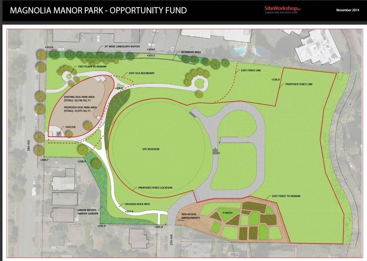 Preferred plan graphic map magnolia manor park seattle for Preferred plans
